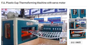 Plastic Cup Thermoforming Machine with servo motor