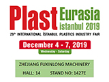 PLAST EURASIA - THE 29th INTERNATIONAL ISTANBUL PLASTICS