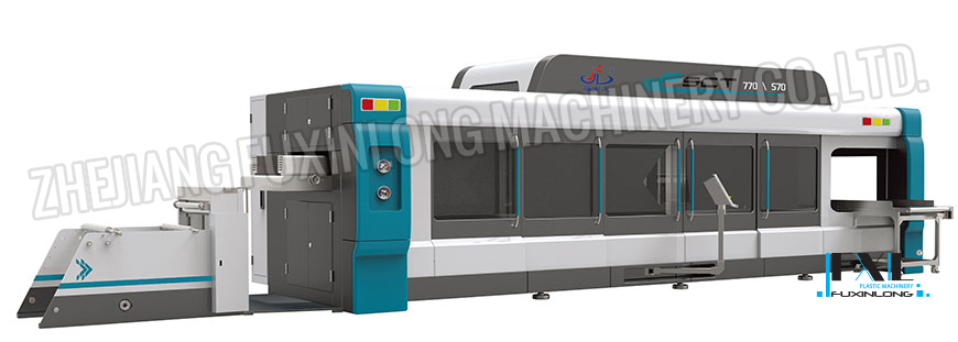 FSCT-770/570 SERIES Fully Automatic Pressure And Vacuum Multi-Station Thermoforming Machine