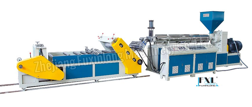 FJL-PC-A SERIES Diagonal mono-layer plastic sheet extruder