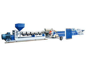 LY SERIES Mono-layer flow casting film extrusion line
