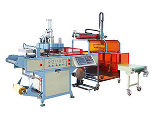 FJL-510/570 530/760 Automatic air pressure plastic thermoforming machine