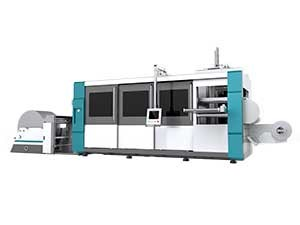 FSDT-SERIES Fully Automatic Pressure  Multi-Station Thermoforming Machine