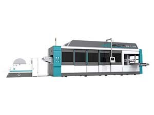 FSCT SERIES Fully Automatic Pressure And Vacuum Multi-Station Thermoforming Machine