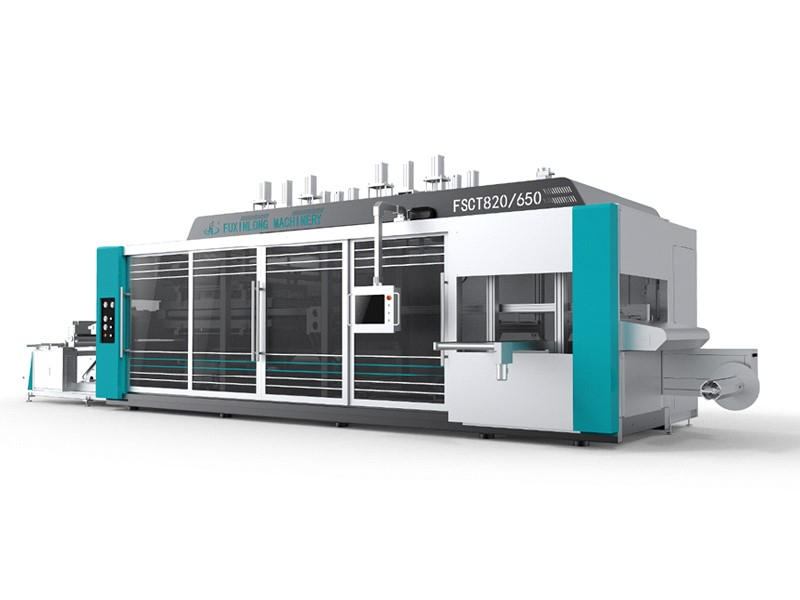 FSCT-820/650 SERIES Intelligence Multi-Station Thermoforming Machine